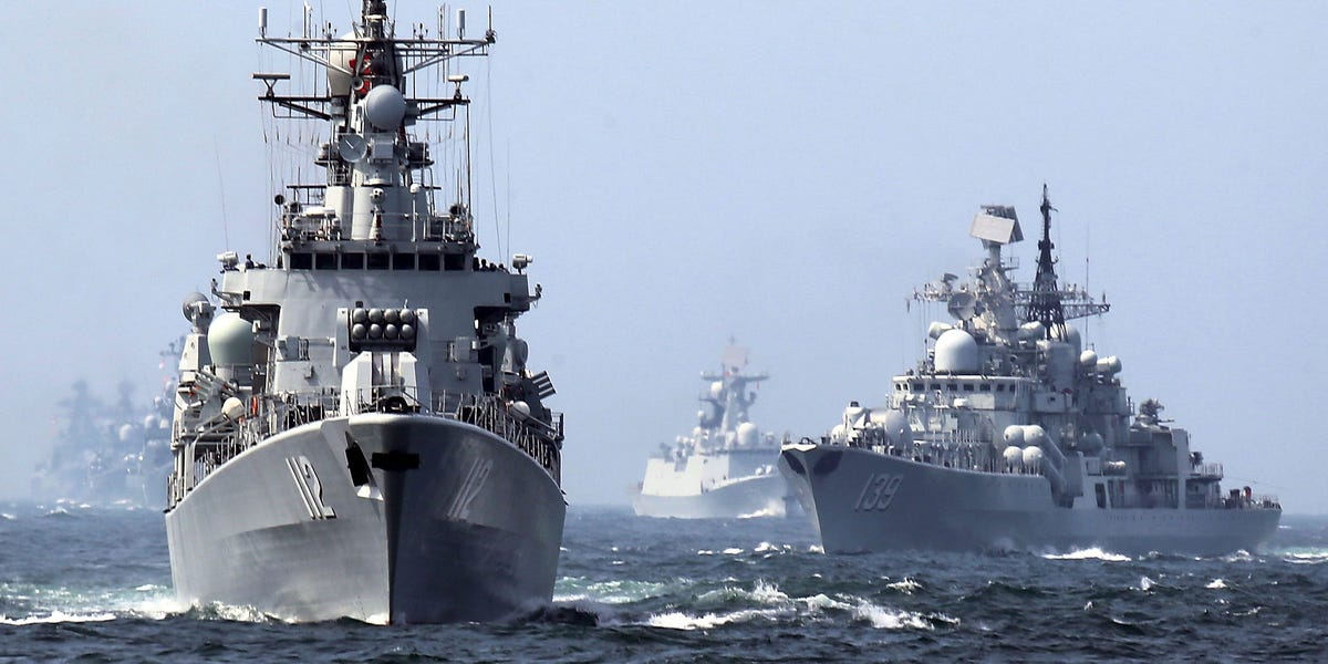 Chinese destroyer targeted US Navy aircraft with weapons-grade laser