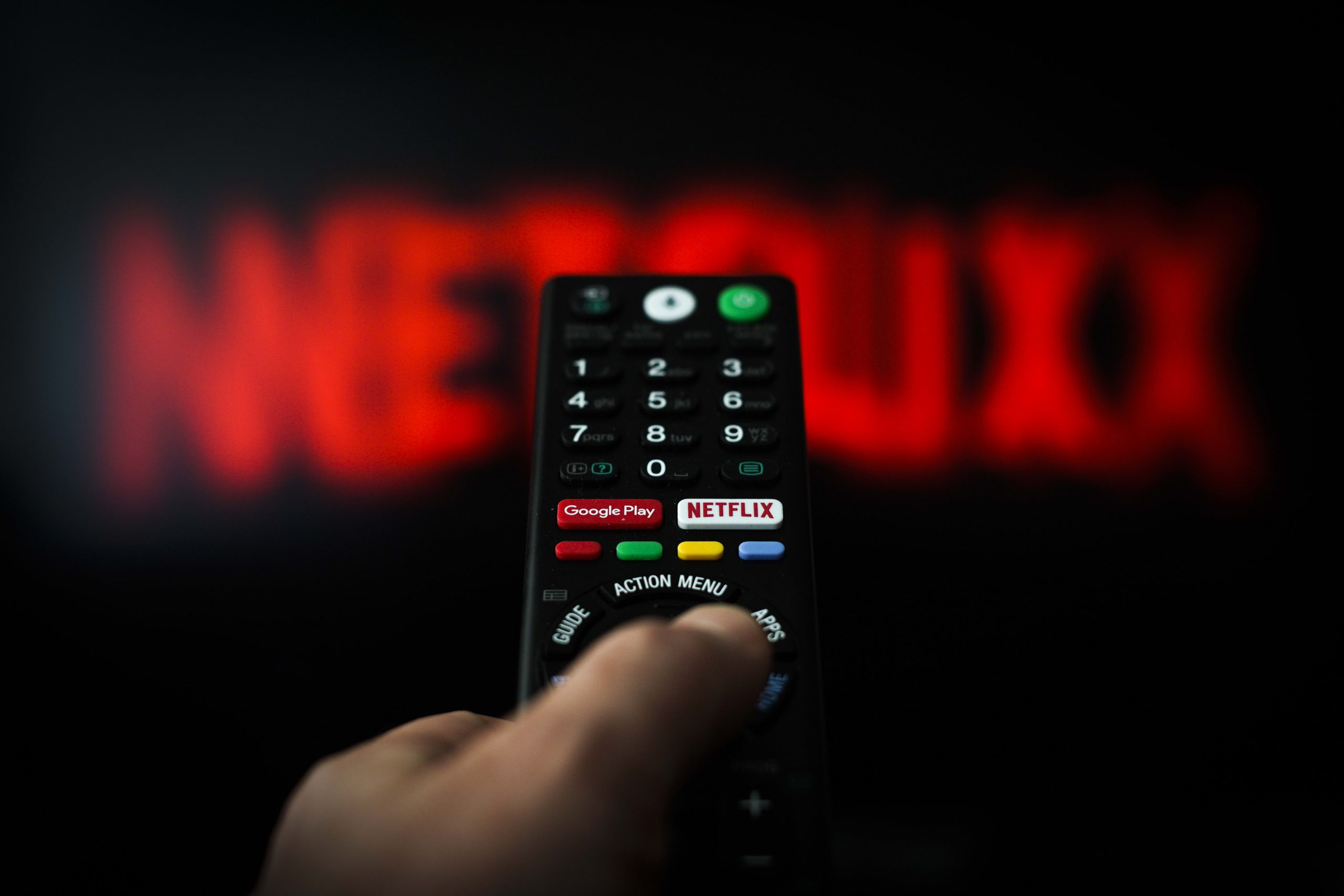 Netflix is one of the best performers in the S&P 500 this week as stay-at-home stocks stay the course