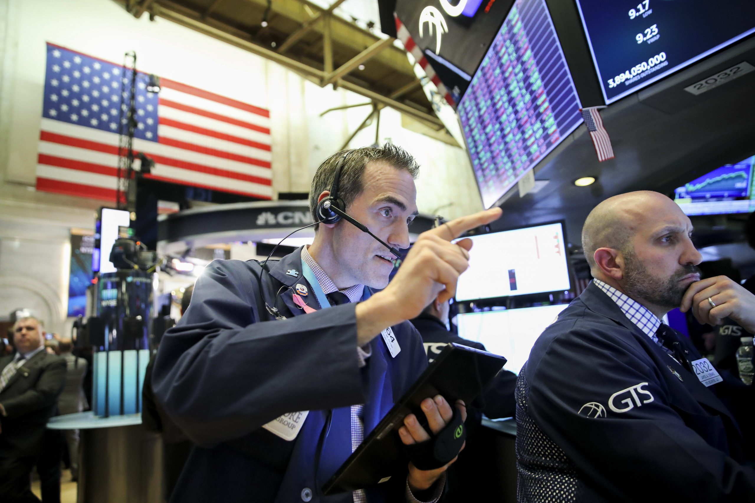 Stock rout may deepen in the week ahead as coronavirus impact starts to show up in economic data