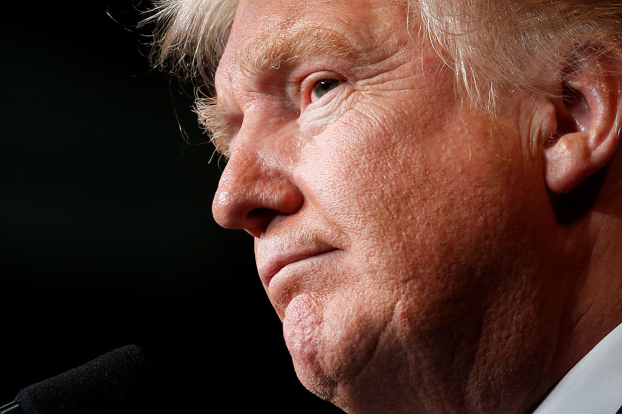 The Dow is up 38% since Trump's election, down from 61% in a matter of days amid sell-off