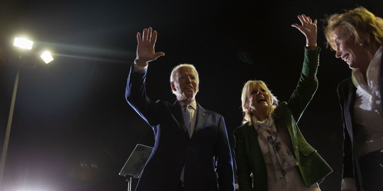 Behind Biden's Rise, a Boost From Centrists—and Trump