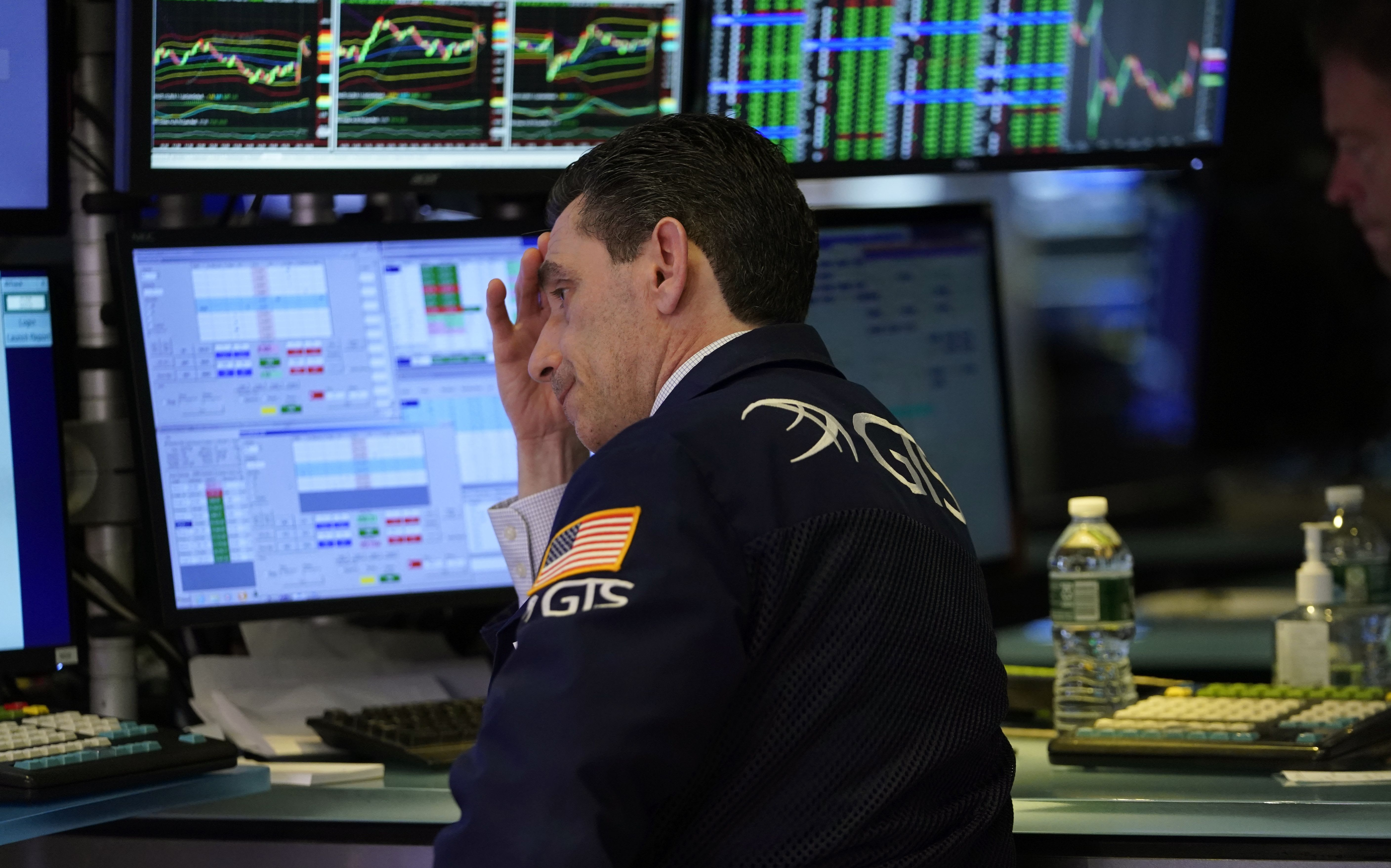 Traders grapple to find the bottom as Dow enters bear market territory with S&P 500 not far behind