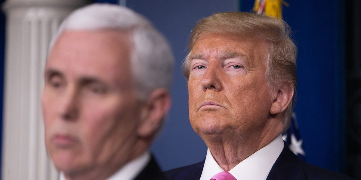 White House: Trump, Pence don't need coronavirus tests because they had 'almost no inter…