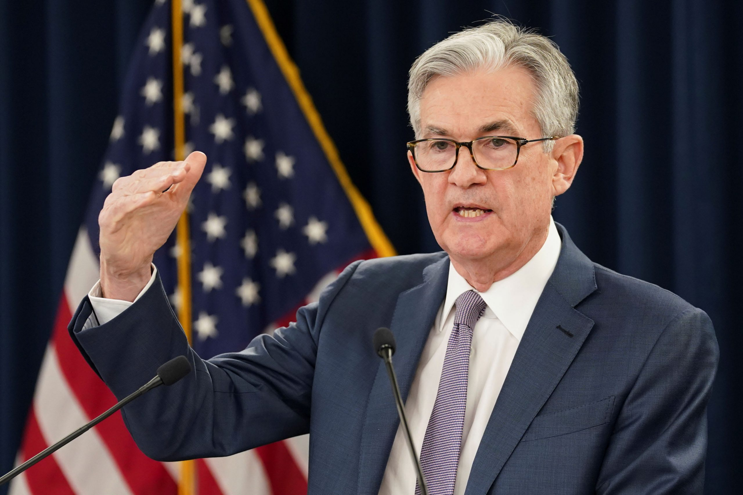Powell says Fed is 'willing to be patient' before raising rates again amid coronavirus slowdown