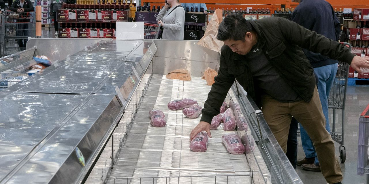 The Food Supply: U.S. Has a Lot, the Outbreak Makes Moving It Tricky