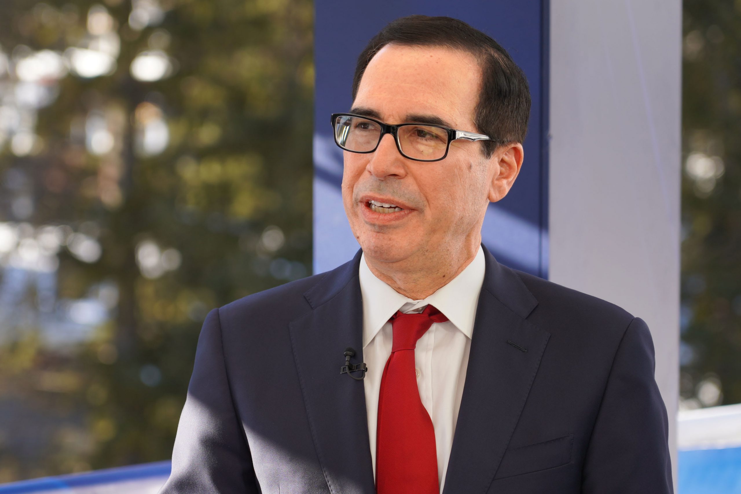 Financing programs for businesses hit by the coronavirus could amount to $4 trillion, Mnuchin says