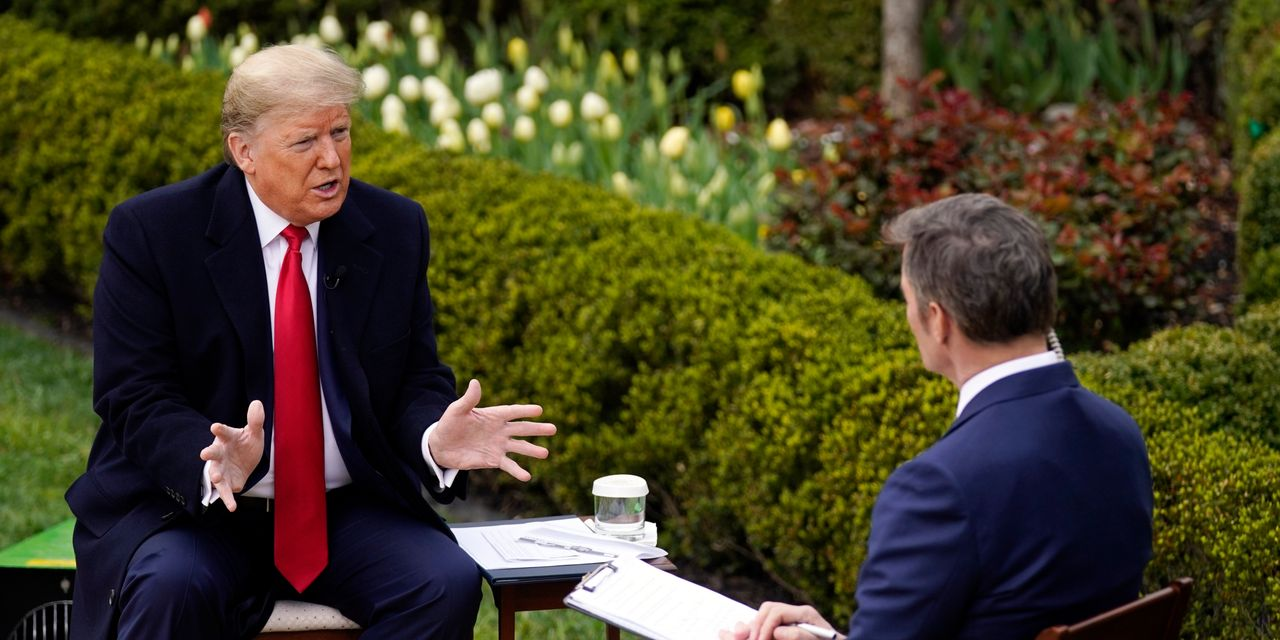 Trump Hopes to Have U.S. Reopened by Easter, Despite Health Experts' Warnings