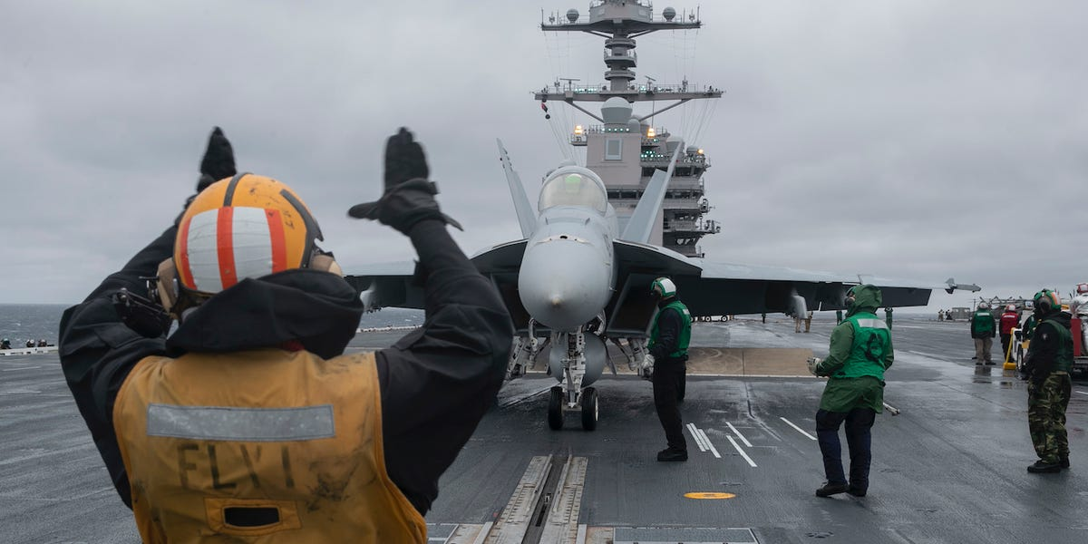 Navy aircraft carrier Ford completes certifications amid coronavirus