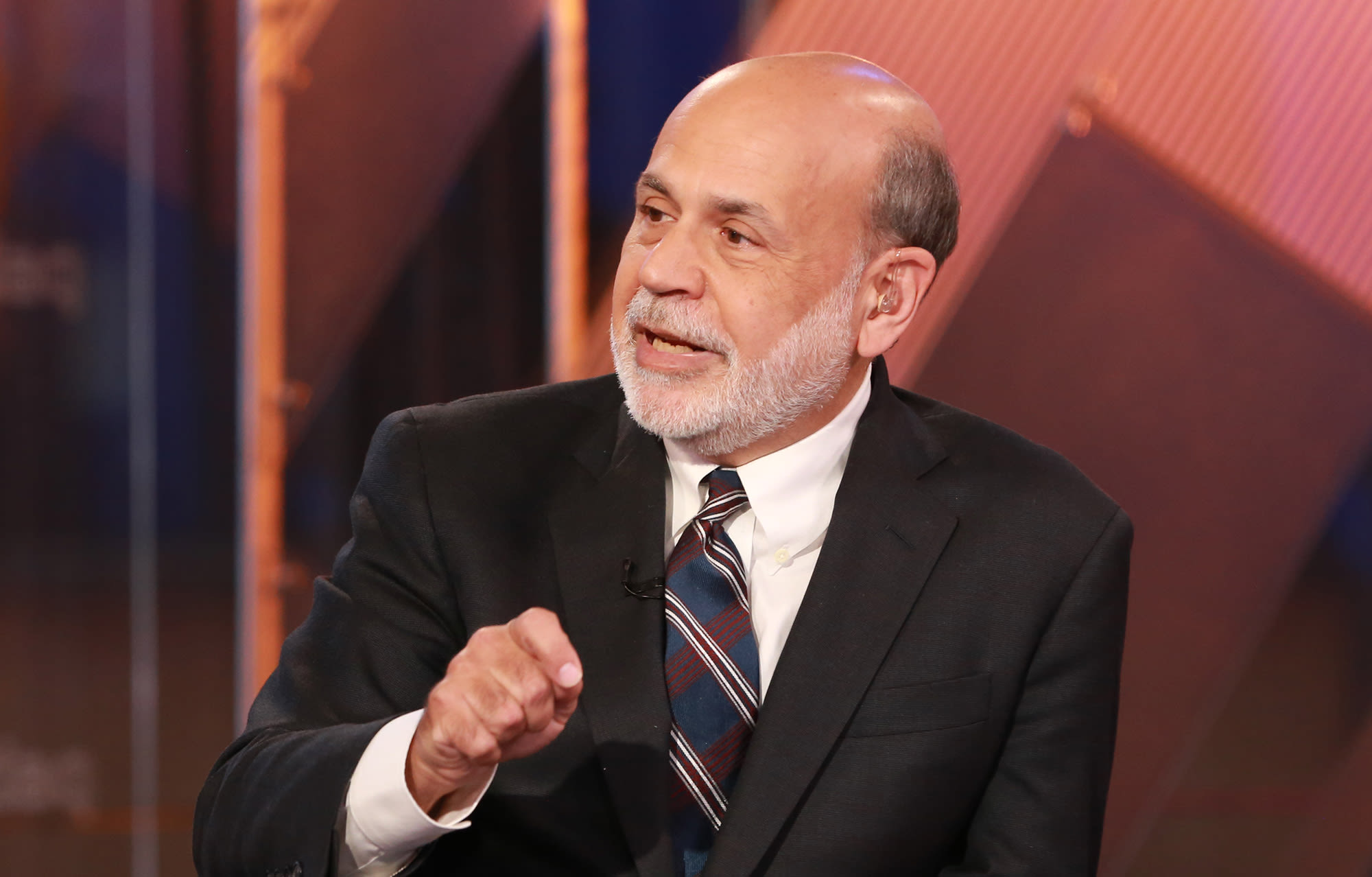 Former Fed Chairman Ben Bernanke sees 'very sharp' recession, followed by 'fairly quick' rebound