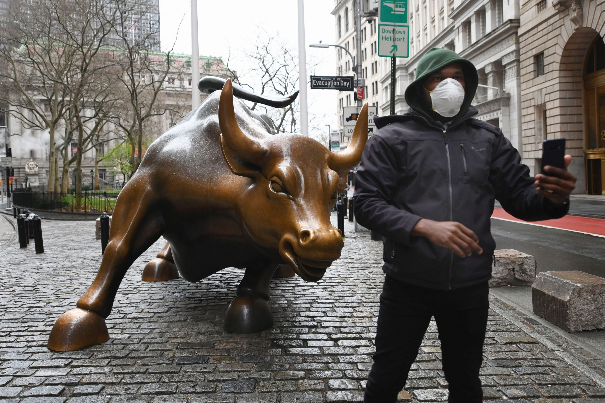 Father of Wall Street's 'fear gauge' sees wild volatility continuing until coronavirus cases peak
