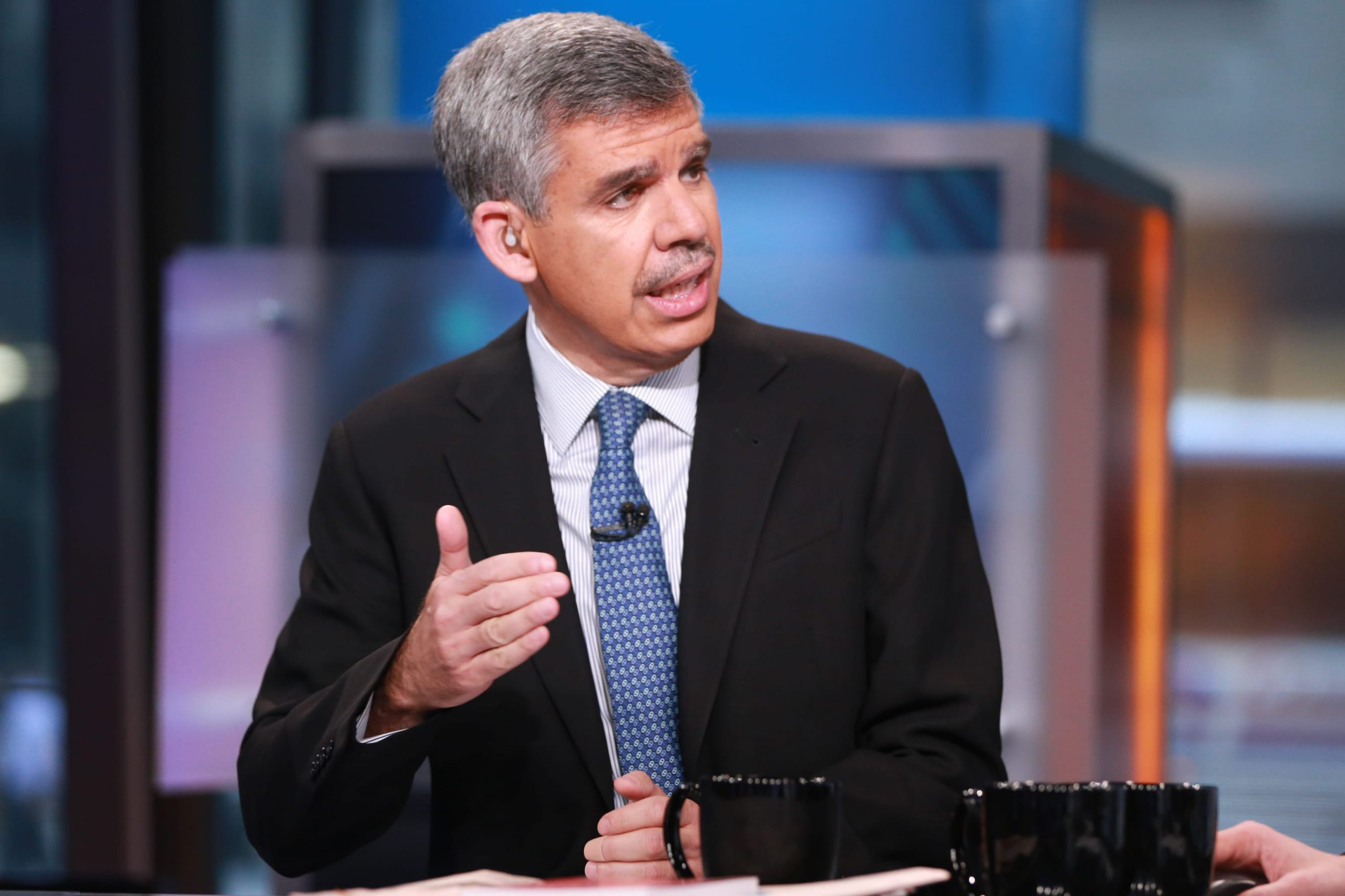 El-Erian: We're not in an 'all clear' for stock index buying, but the sell 'everything' moment has passed