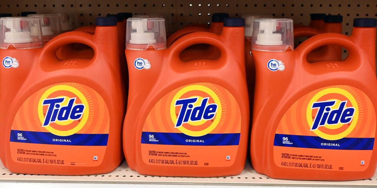 Procter & Gamble Posts Biggest U.S. Sales Gain in Decades