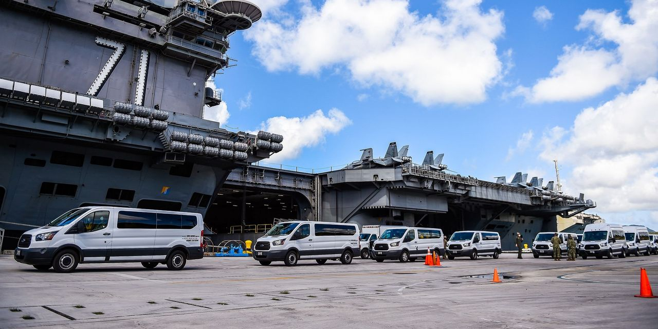Aircraft Carrier Outbreak Spread At First Without Symptoms, Officials Say