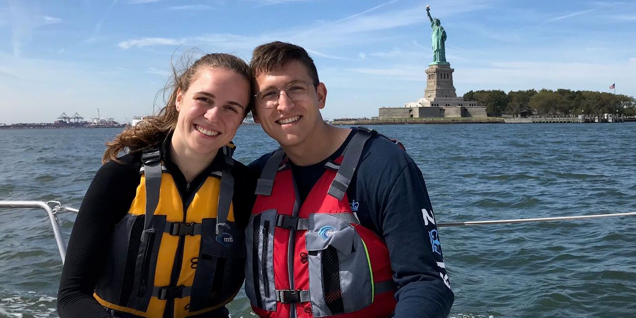 Two College Students Marry Quickly Before Escaping New York: 'The Only Way We Could Stay Together.'