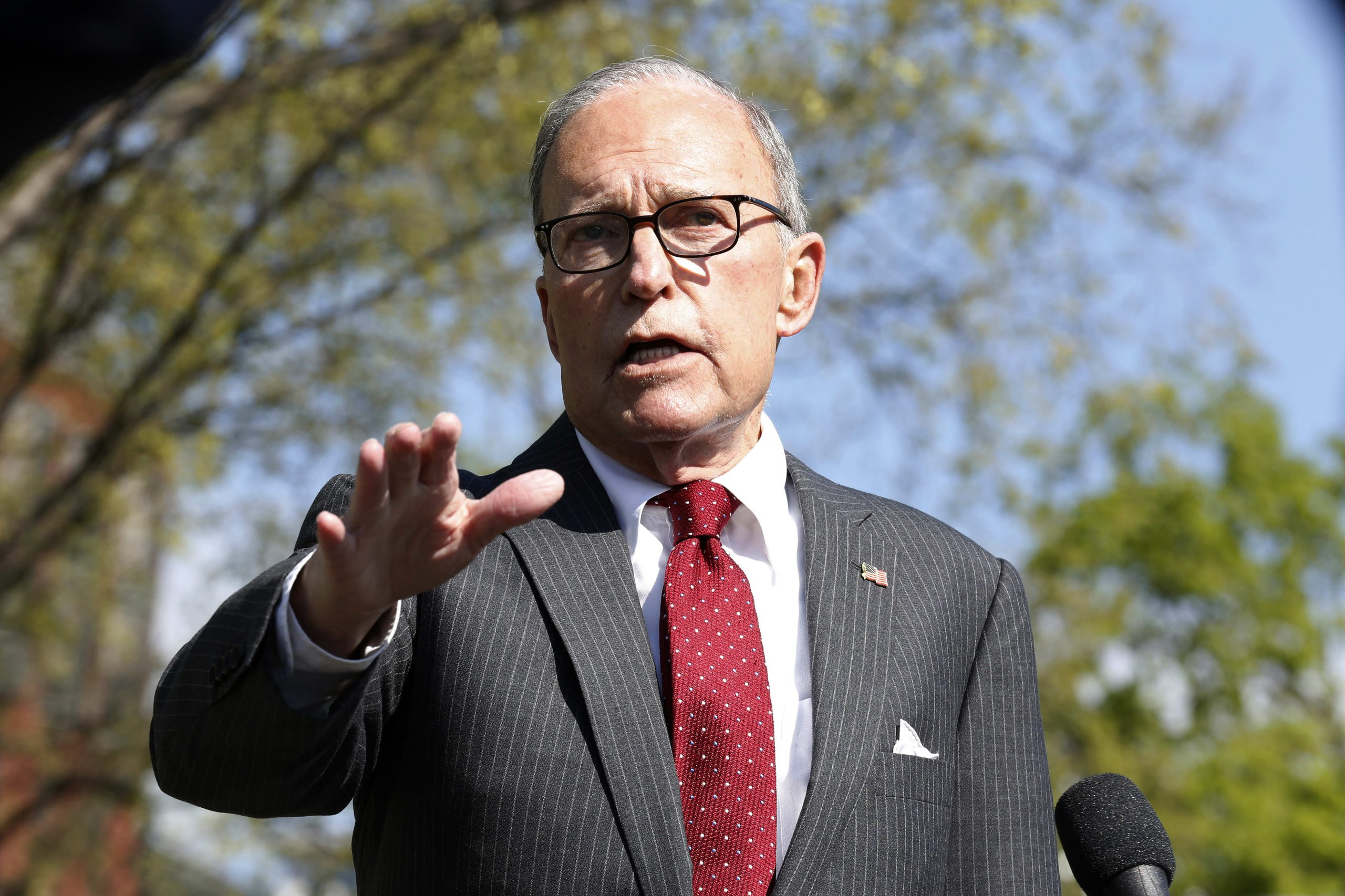 Larry Kudlow says oil should rebound as the economy starts to reopen