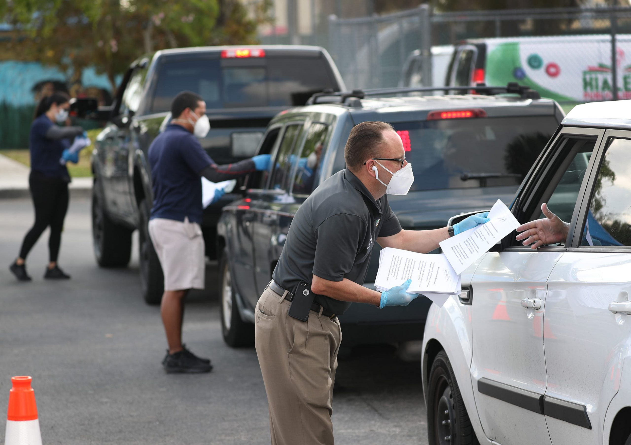 Another 4.3 million workers expected to have filed unemployment claims