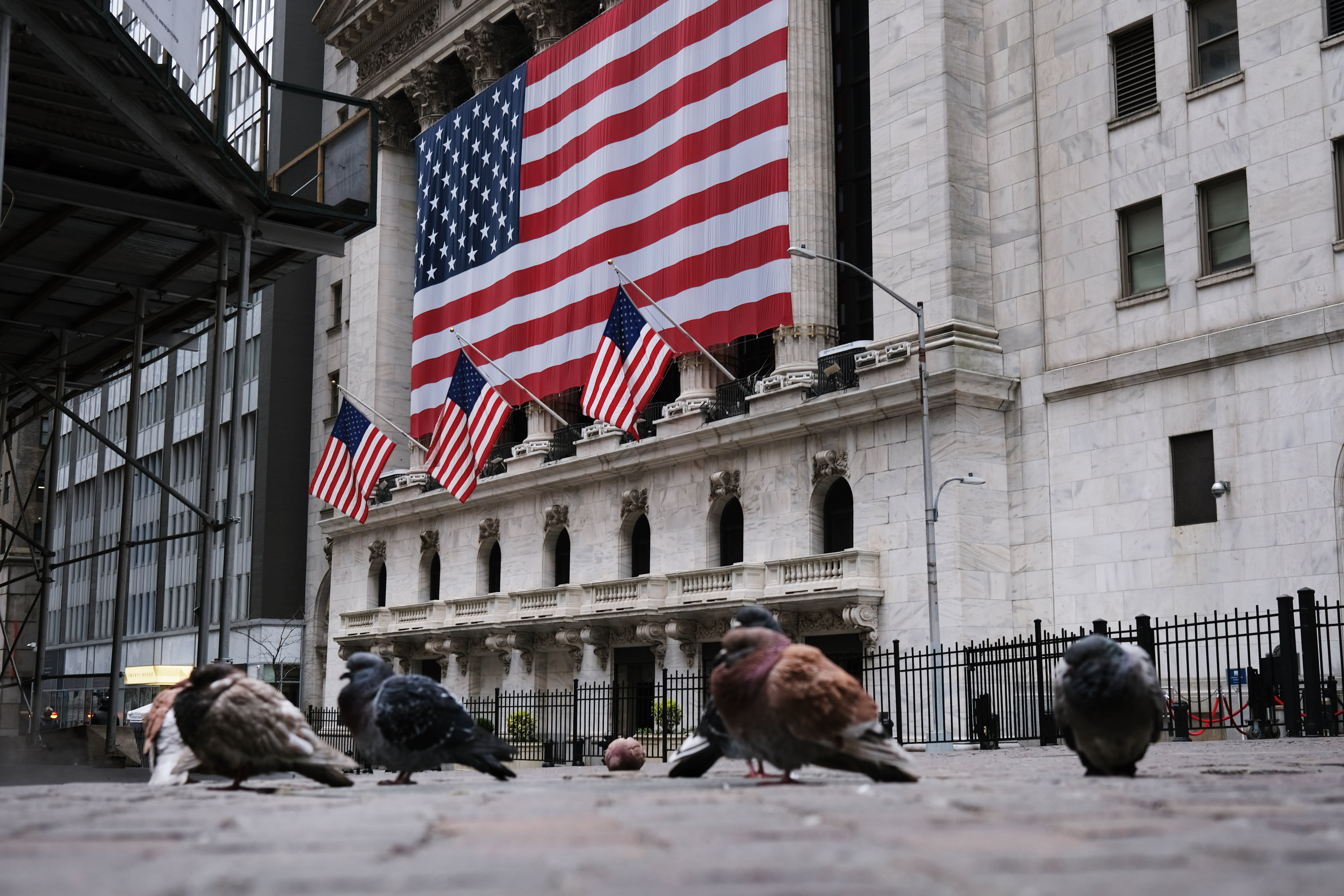 US stock futures are flat after Wall Street's roller-coaster session