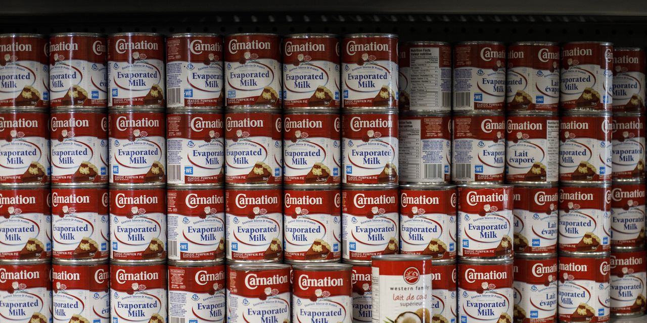 Shoppers Stock Up on Comfort Food Amid Pandemic