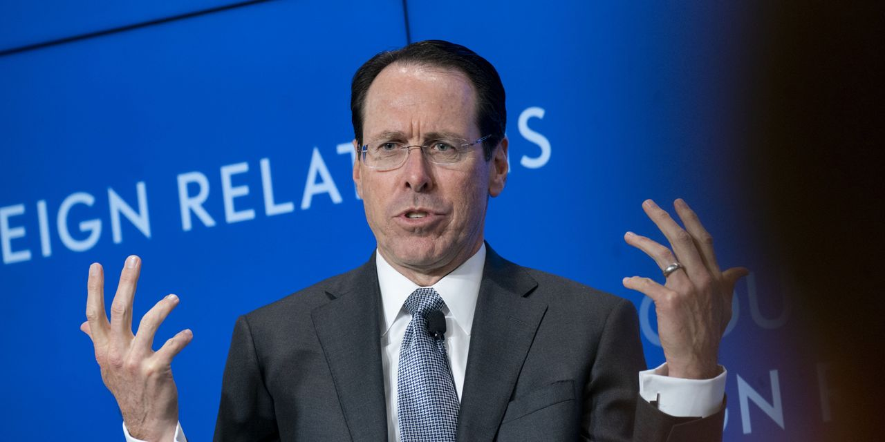 AT&T's Randall Stephenson to Retire as CEO