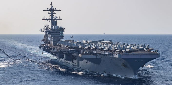 Probably will be 'hundreds' of COVID-19 cases on US aircraft carrier