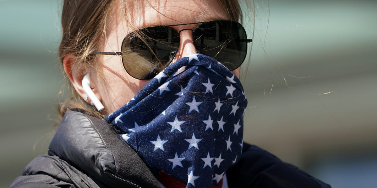 CDC recommending cloth masks, face coverings in public spaces