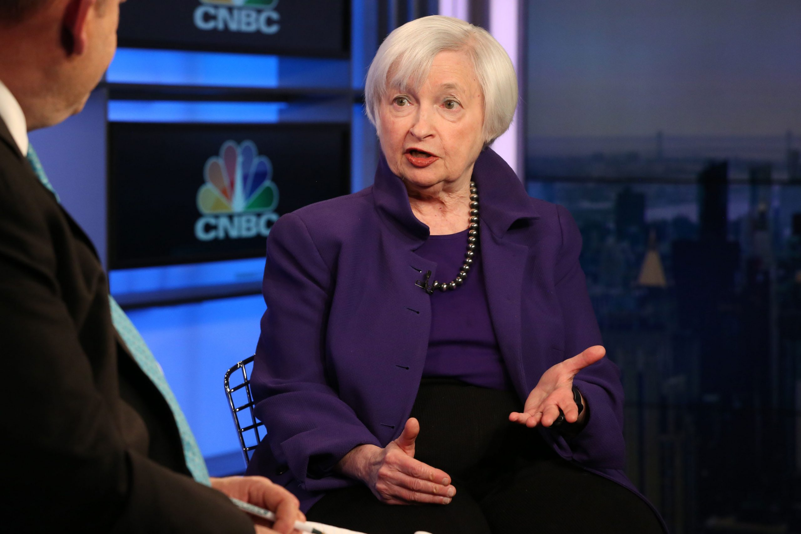 Janet Yellen says second-quarter GDP could decline by 30% and unemployment is already at 12%-13%