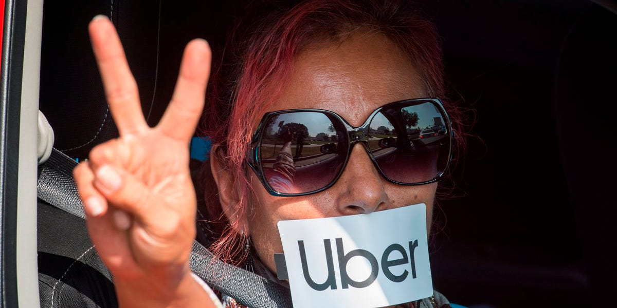 Uber drivers: COVID-19 pay policy pushing them to work even if sick