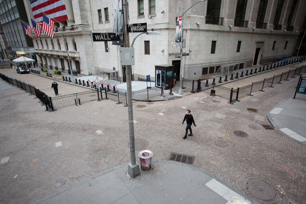 Stock investors are hunting for positives, but many on Wall Street see a move back to the lows