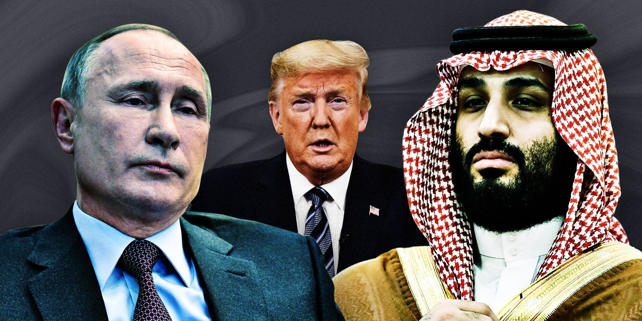Trump, Putin, Saudi Crown Prince Scramble to Fix Oil Markets