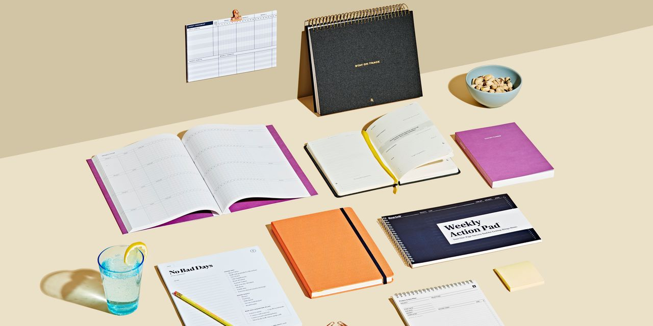 Paper Planners to Help You Stay Away From Screens