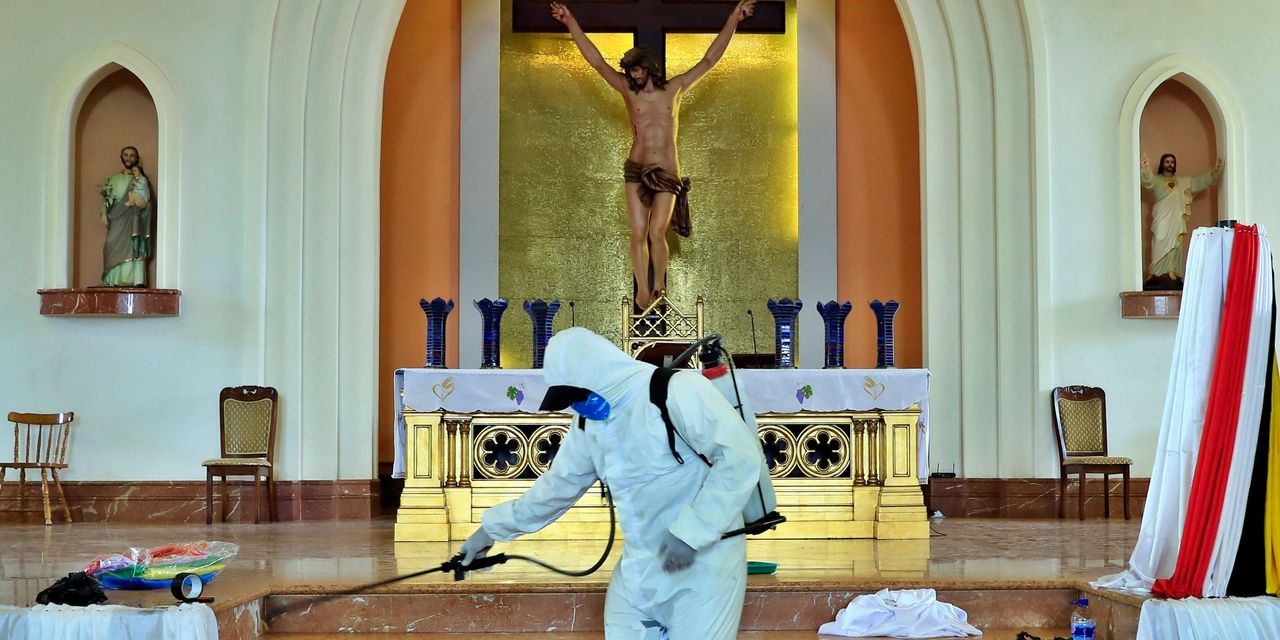 Health Officials Plead for Public to Observe a Locked-Down Easter