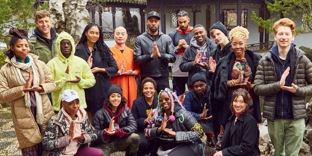 I spent 3 days at a 'zen' meditation retreat led by Wu-Tang Clan's RZA