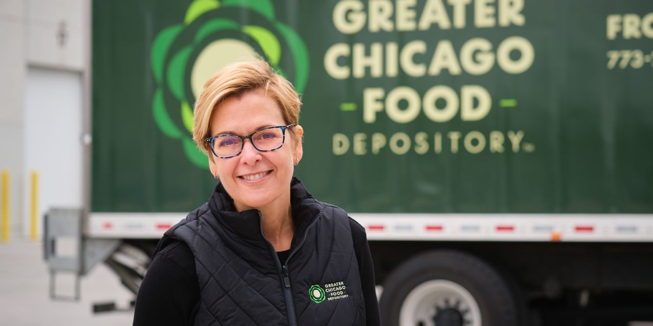 How the Head of a Chicago Food Bank Is Relieving Stress During the Coronavirus Crisis