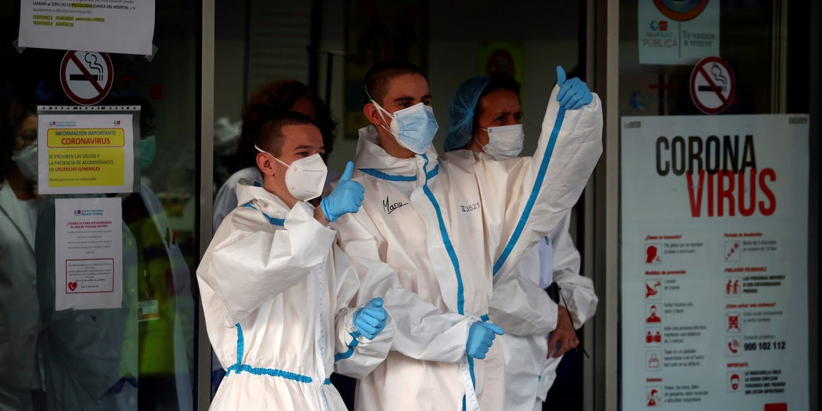 Spain issues back-to-work guidelines after coronavirus deaths slow