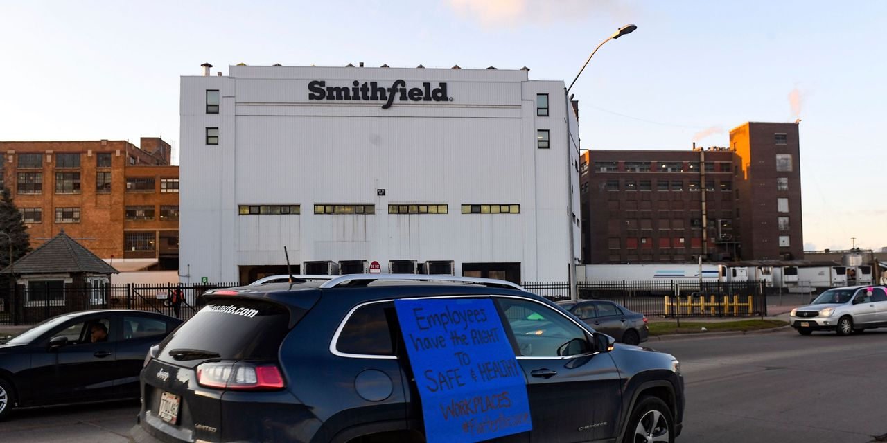 Smithfield CEO Warns of Risks to Pork Supply