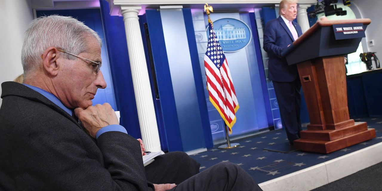Trump Retweets Call for Dr. Fauci to Be Fired Over Coronavirus Comments