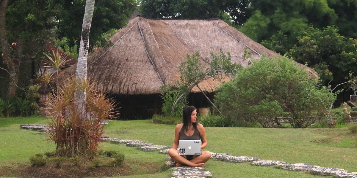 What it's like living as a digital nomad in Bali during the pandemic