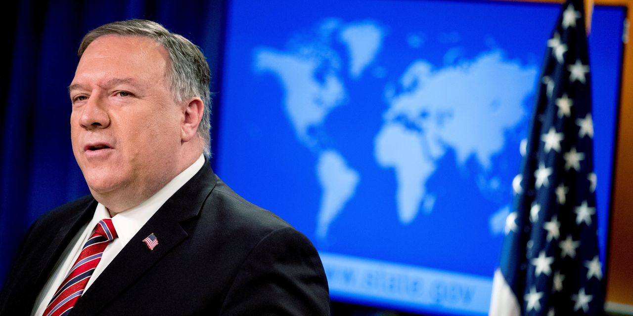Pompeo Says There is Evidence Coronavirus Came From Wuhan Lab