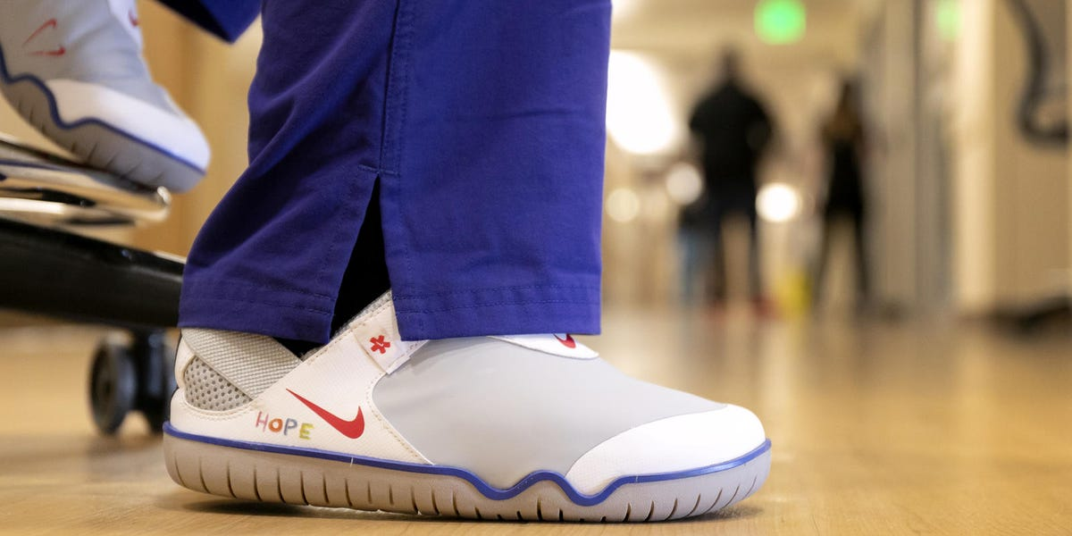 Nike donates Zoom Pulse sneakers and other items to healthcare workers