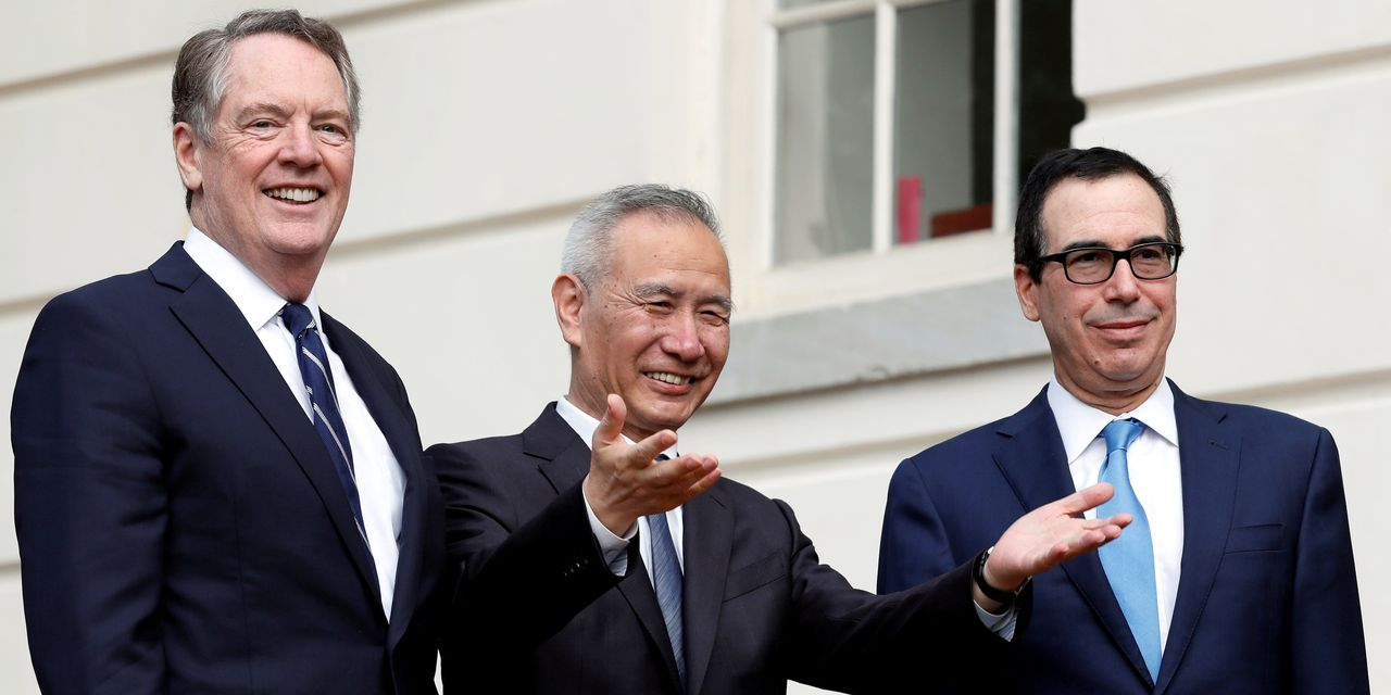 U.S. and China Negotiators Pledge to Implement Phase One Trade Deal