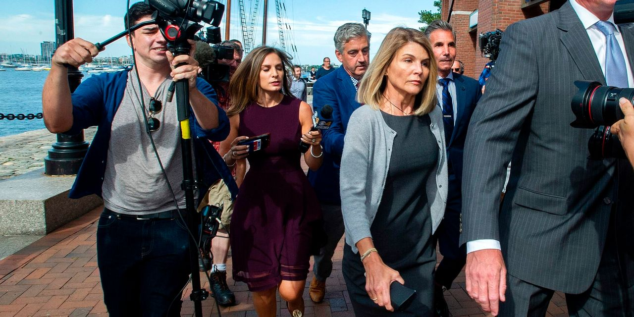 Lori Loughlin and Husband Plead Guilty in College-Admissions Scandal