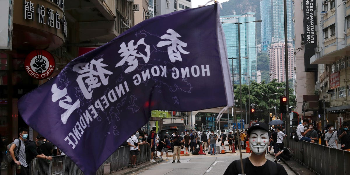 Beijing imposes new national security laws on Hong Kong after protests