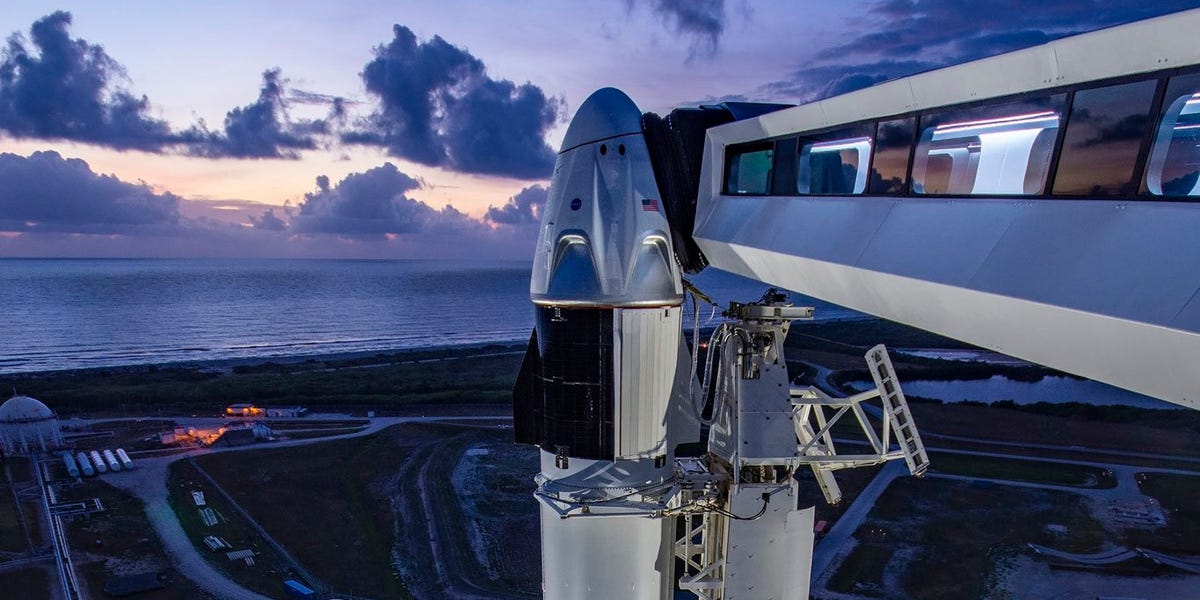 Storms may rain on SpaceX's attempt to launch astronauts on Wednesday