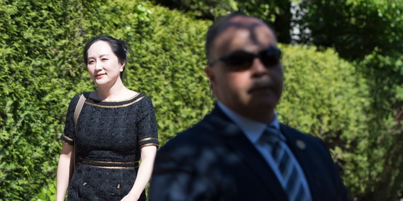Canadian Judge Rules U.S. Met Legal Test to Seek Huawei Executive's Extradition