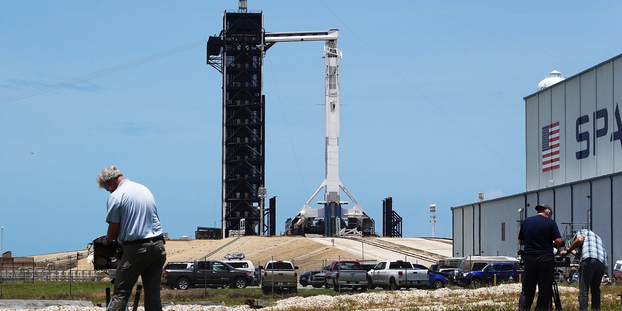 Elon Musk's SpaceX Tries Again to Launch NASA Astronauts Into Orbit