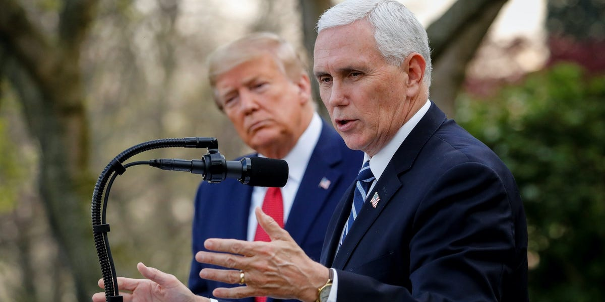 Trump insiders have an answer to the question, 'Where's Mike Pence?'
