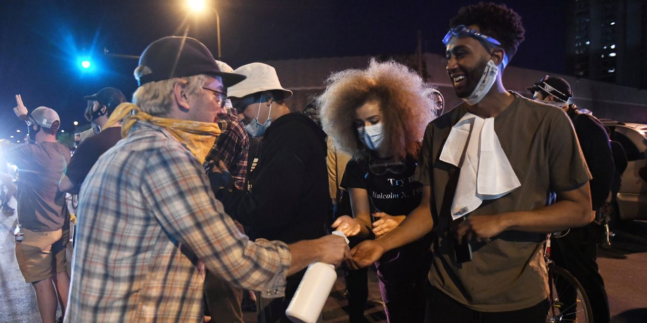 'It's a Double-Edged Sword': Protesters Grapple With Coronavirus Infection Risks