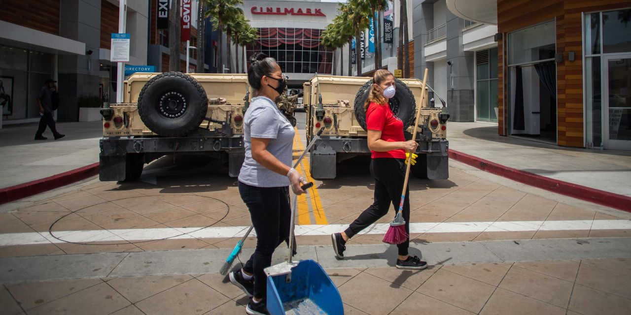 Each Morning, After Protests, America Cleans Up