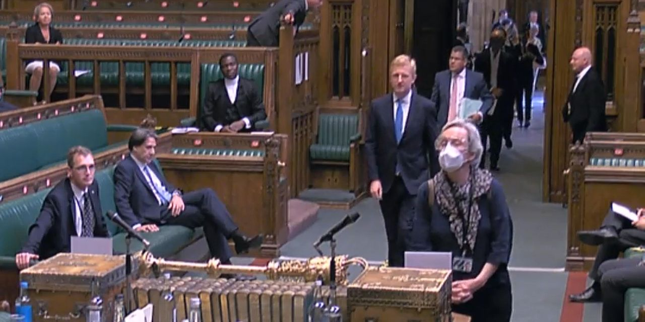 Parliament Returns and Gives British a New Opportunity to Stand in Line