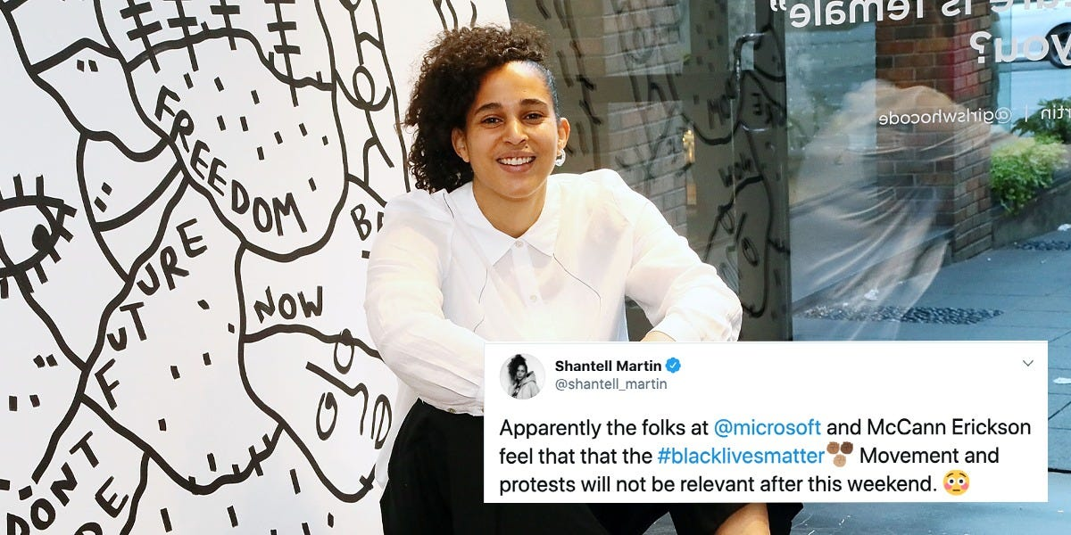 Microsoft under fire for insensitive email, Black Lives Matter